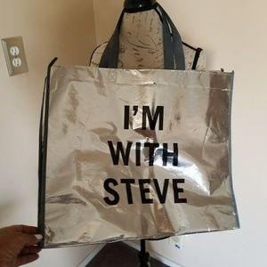 STEVE MADDEN SHOPPING BAG
